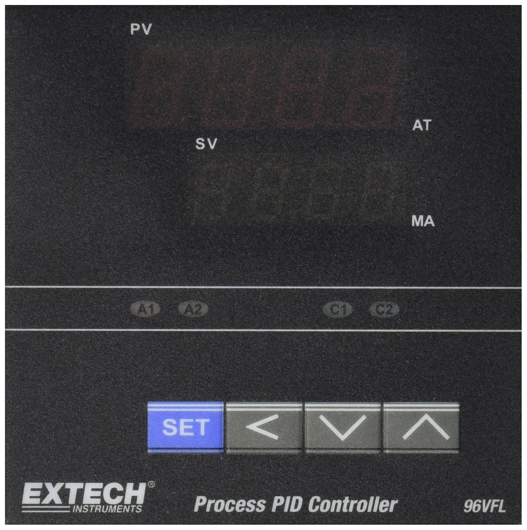 Extech 96VFL13 Temperature PID Controller 1/4 DIN with 4-20mA Output by Extech