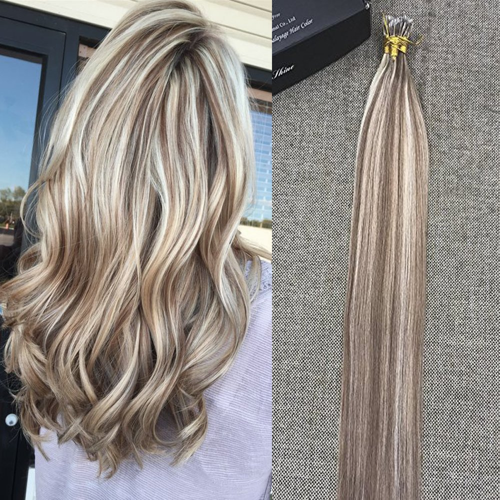 Amazon Full Shine 16 Blonde Highlights Extensions Color 10