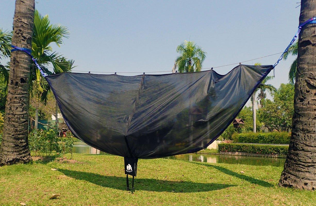 Chill Gorilla Extra Large Hammock Mosquito Net Sleeping