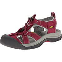 Keen Bayan Venice H2 W Platform Sandalet, Pembe Pembe Size: