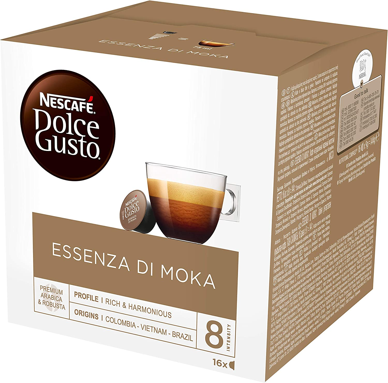 Nescafé Dolce Gusto - Cápsulas de café originales ESSENZA DI MOKA ...