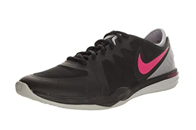 Nike Women's Dual Fusion TR 3 Black/Pink Pow/Wolf Grey Training Shoe 5.5