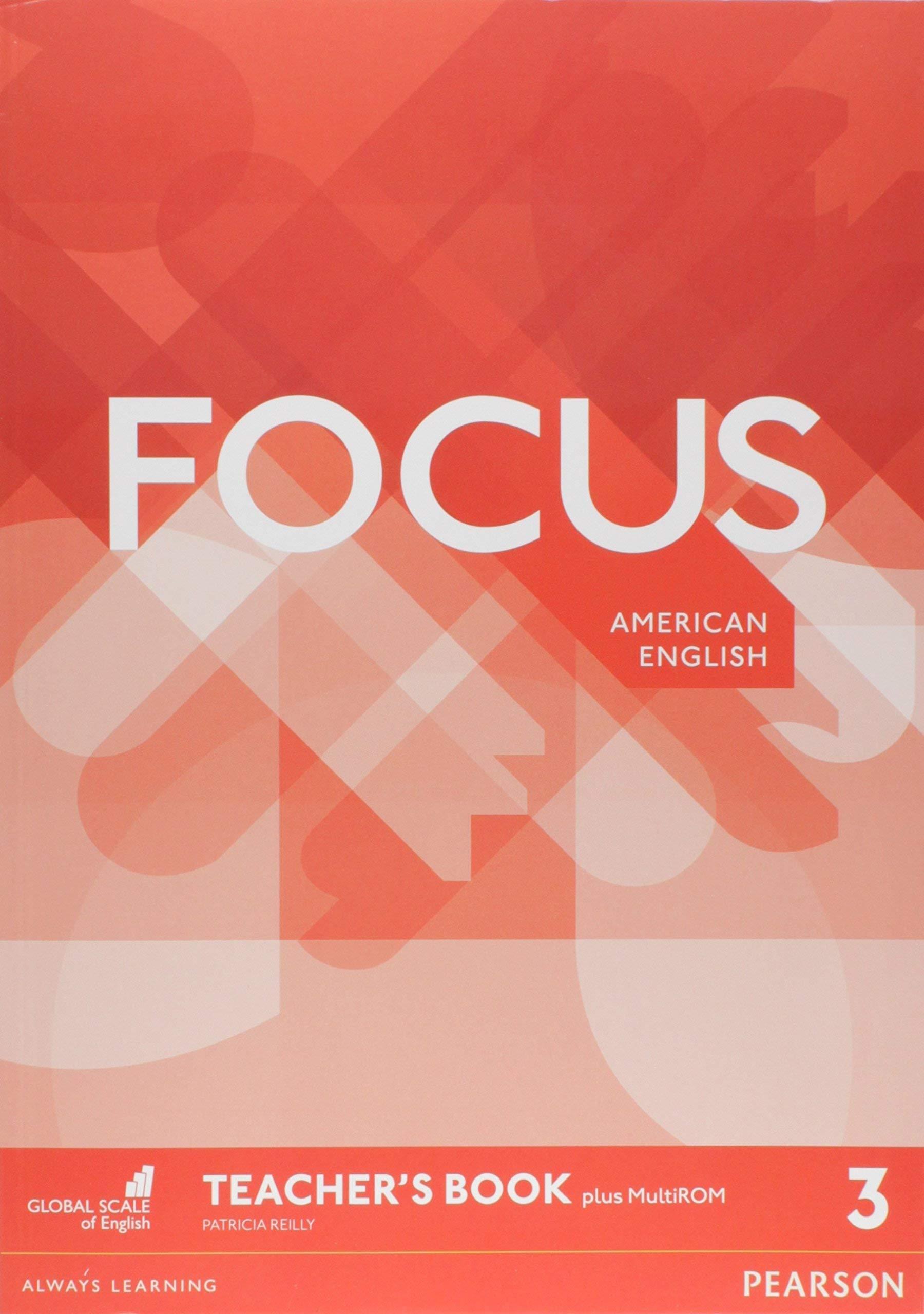 Focus AmE 3 Teachers Book & MultiROM Pack: Amazon.es: Reilly, Patricia: Libros en idiomas extranjeros
