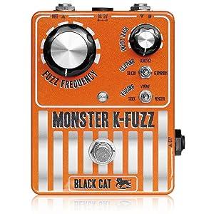 Black Cat Monster K-Fuzz Stompbox