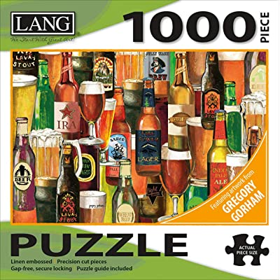 Lang Crafted Brews Puzzles - 1000 Pc (5038028): Toys & Games