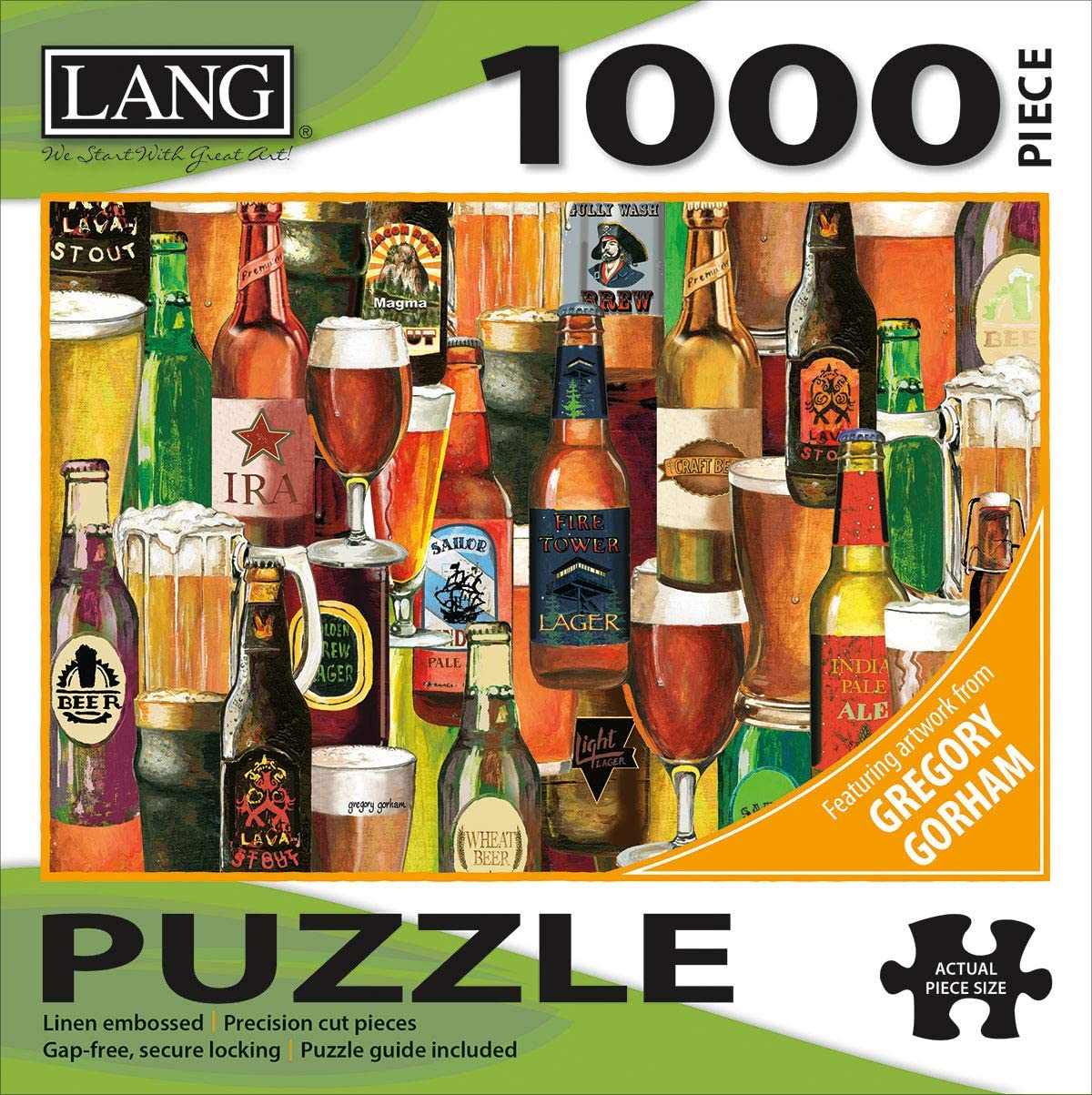 Lang Crafted Brews Puzzles 1000 Pc 5038028