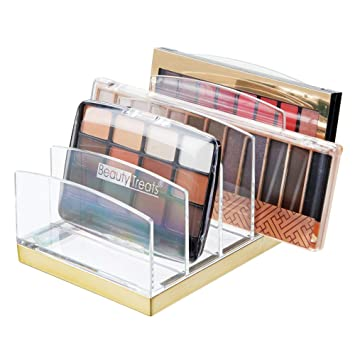 Brilliant Mdesign Plastic Makeup Organizer For Bathroom Countertops Vanities Cabinets Cosmetics Storage Solution For Eyeshadow Palettes Contour Kits Complete Home Design Collection Papxelindsey Bellcom