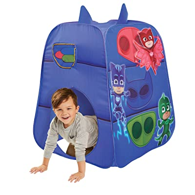 PJ Masks Kids Pop Up Tent Children's Playtent Playhouse for Indoor Outdoor, Great for Pretend Play in Bedroom Or Park! for Boys Girls Kids Infants & Baby: Toys & Games