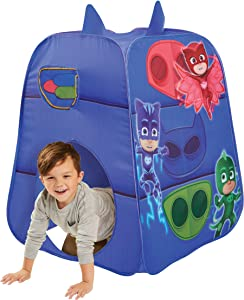 PJ Masks Kids Pop Up Tent - Children's Playtent Playhouse for Indoor and Outdoor