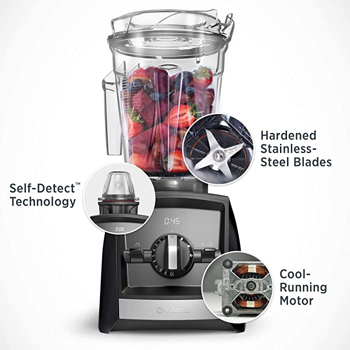 Vitamix A2500 Ascent Series Smart Blender | Best Vitamix Blender for Margaritas