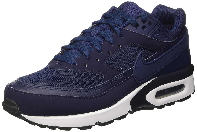 Nike Herren Air Max BW Gymnastikschuhe  40 EU|Blau (Midnight Navy/Midnight Navy/White/Black)