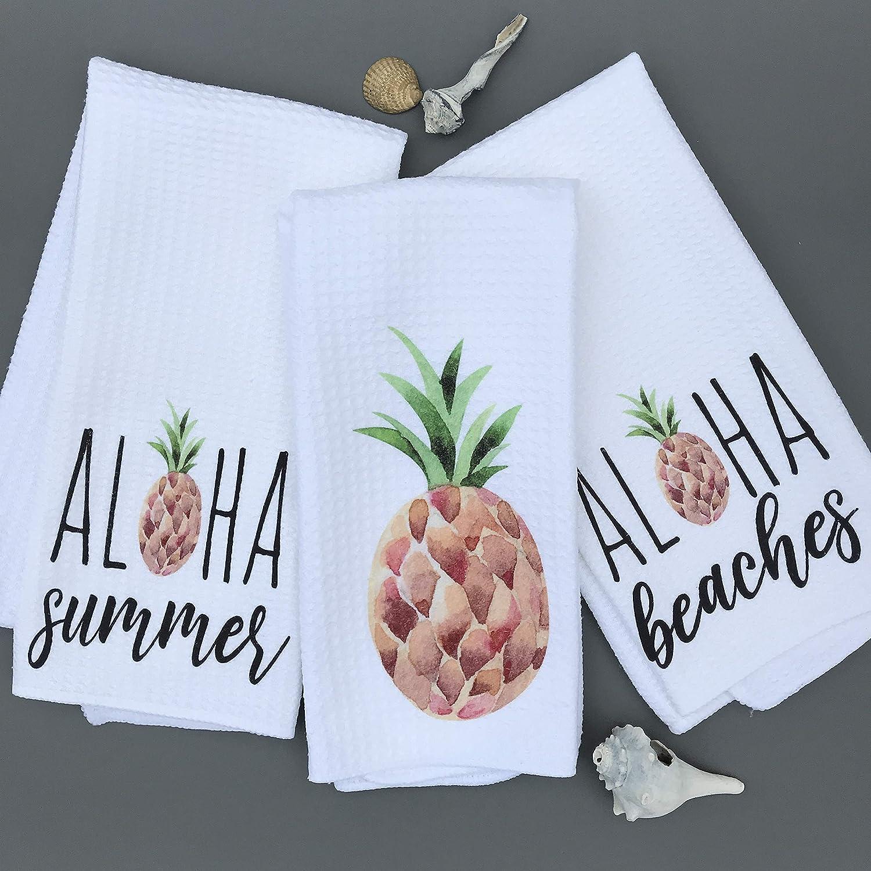 Aloha Pineapple Kitchen Towel
