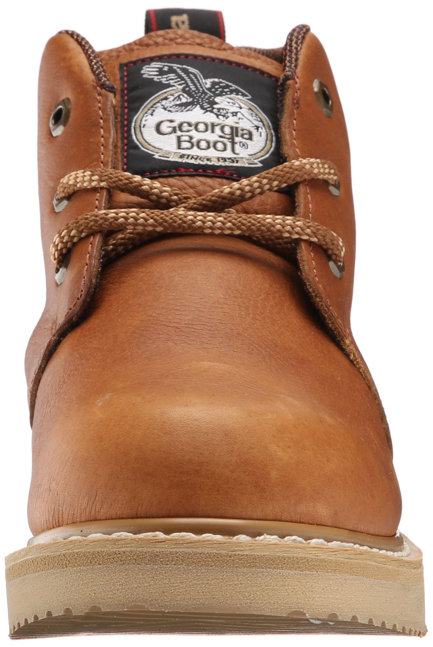 Georgia Boot Men's GB1222 Chukka Boot,Barracuda Gold,9.5 W US by Georgia (Image #4)