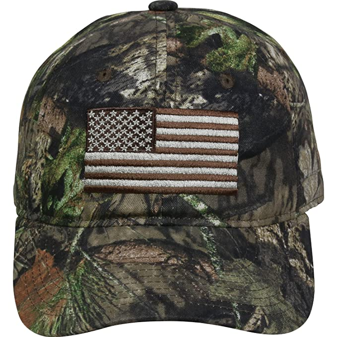 Amazon.com : Outdoor Cap Mens Camouflage Americana Cap, Mossy Oak Country, One Size : Sports & Outdoors