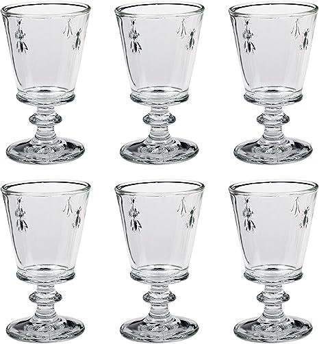 6x la rochere Amboise verre de vin verre verres vin 260 ML