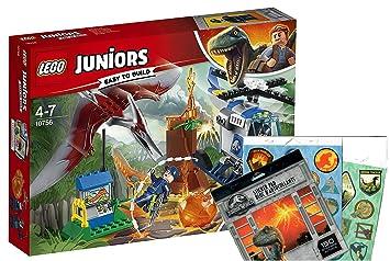Lego Juniors 10756 Huida Antes De Pteranodon Jurassic World