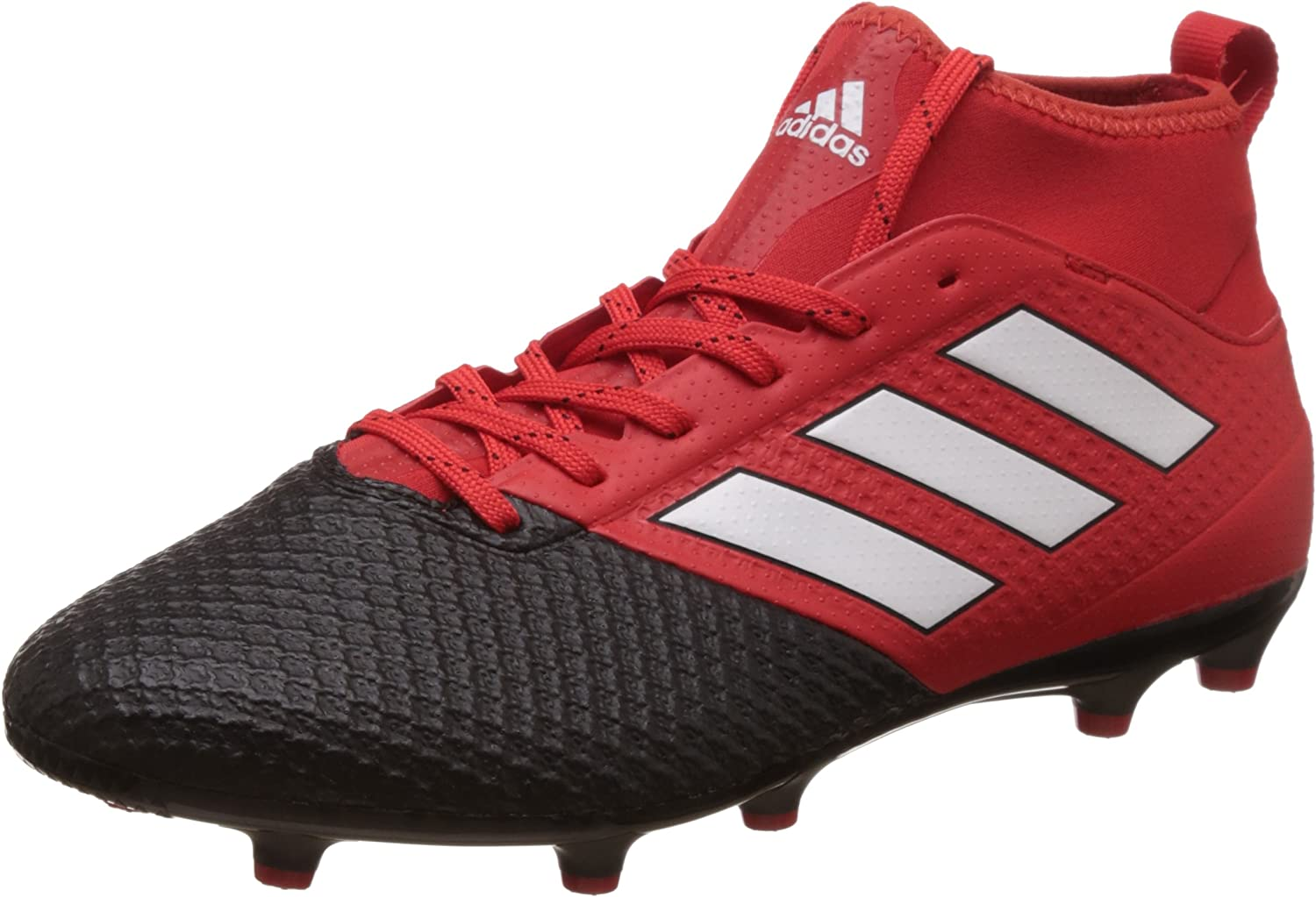 muy empezar Esperar algo  Amazon.com: adidas ACE 17.3 Primemesh FG Football Boots - Adult -  Red/Footwear White/Core Black - UK 10: Sports & Outdoors