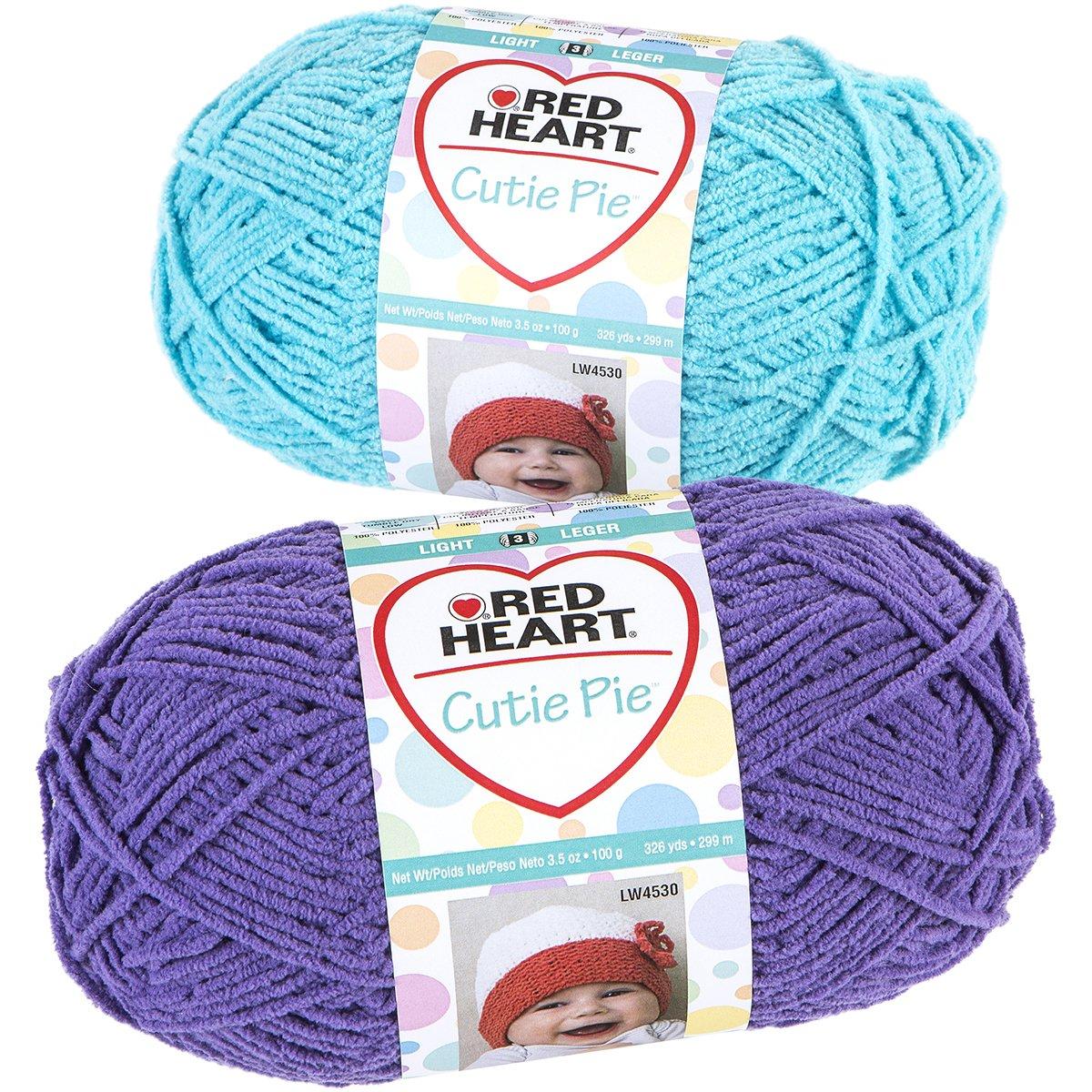 Red Heart Cutie Pie Yarn, Splash by Red Heart B00UY17GFM