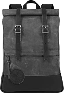 product image for Duluth Pack Deluxe Roll Top Scout (Waxed Grey)