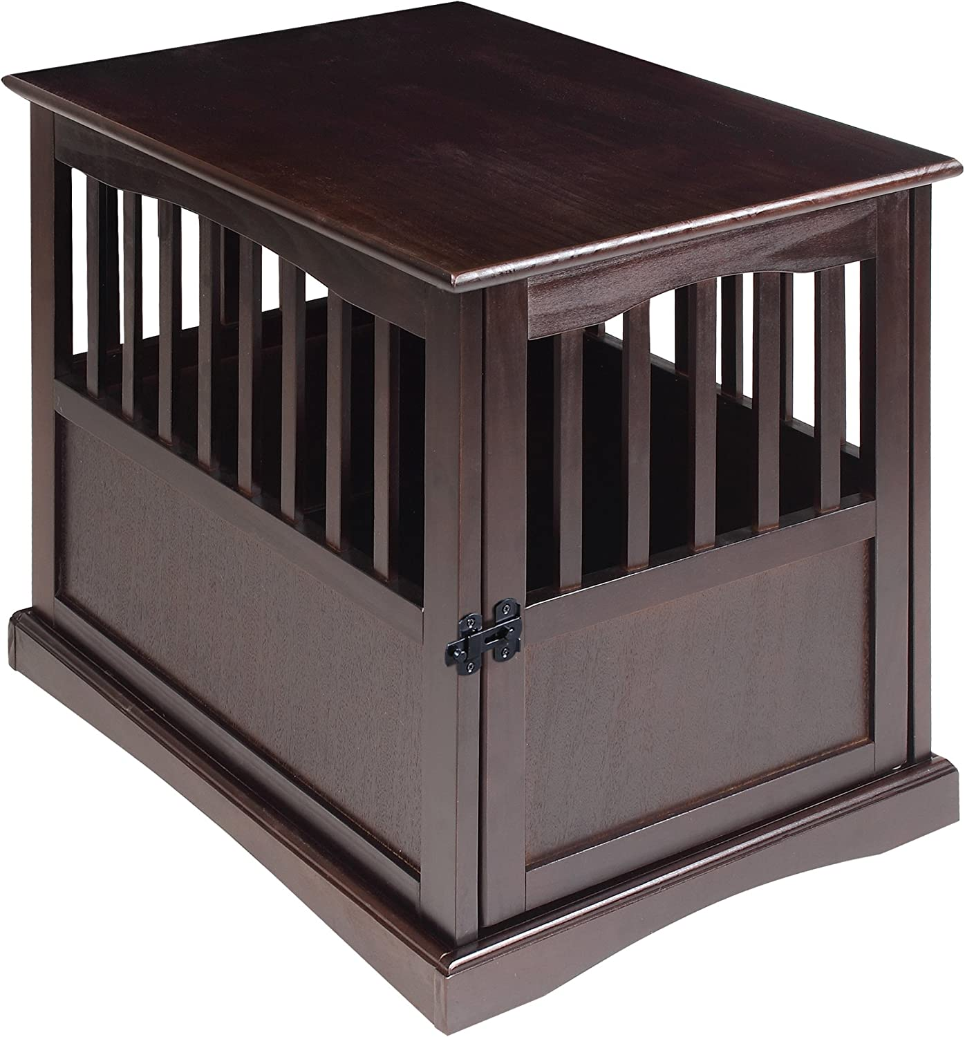 Casual Home End Table Pet Crate