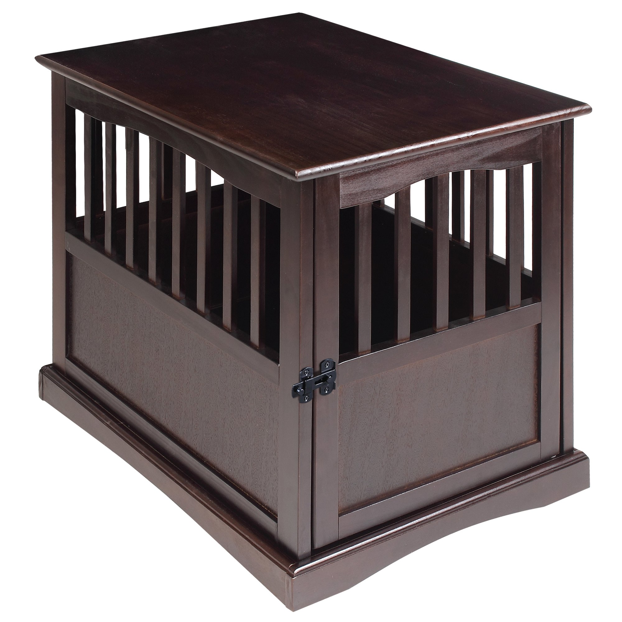 Casual Home 600-44 End Table, 24-Inch Pet Crate, 20'' W x 27.5'' D x H, Espresso by Casual Home