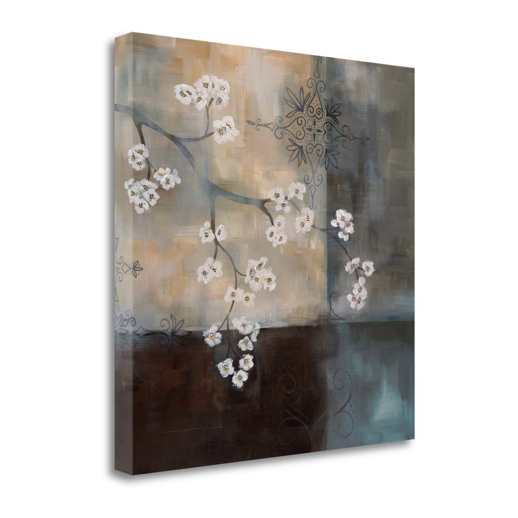 ''Spa Blossom II'' By Laurie Maitland, Fine Art Giclee Print on Gallery Wrap Canvas, Ready to Hang