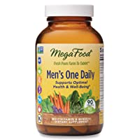 MegaFood, Men's One Daily, Daily Multivitamin and Mineral Dietary Supplement with...