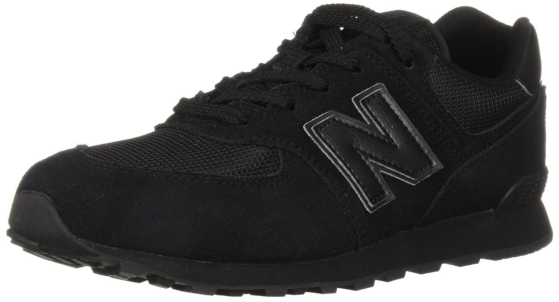 New Balance 574v2, Zapatillas Unisex Niños 34 5|Negro