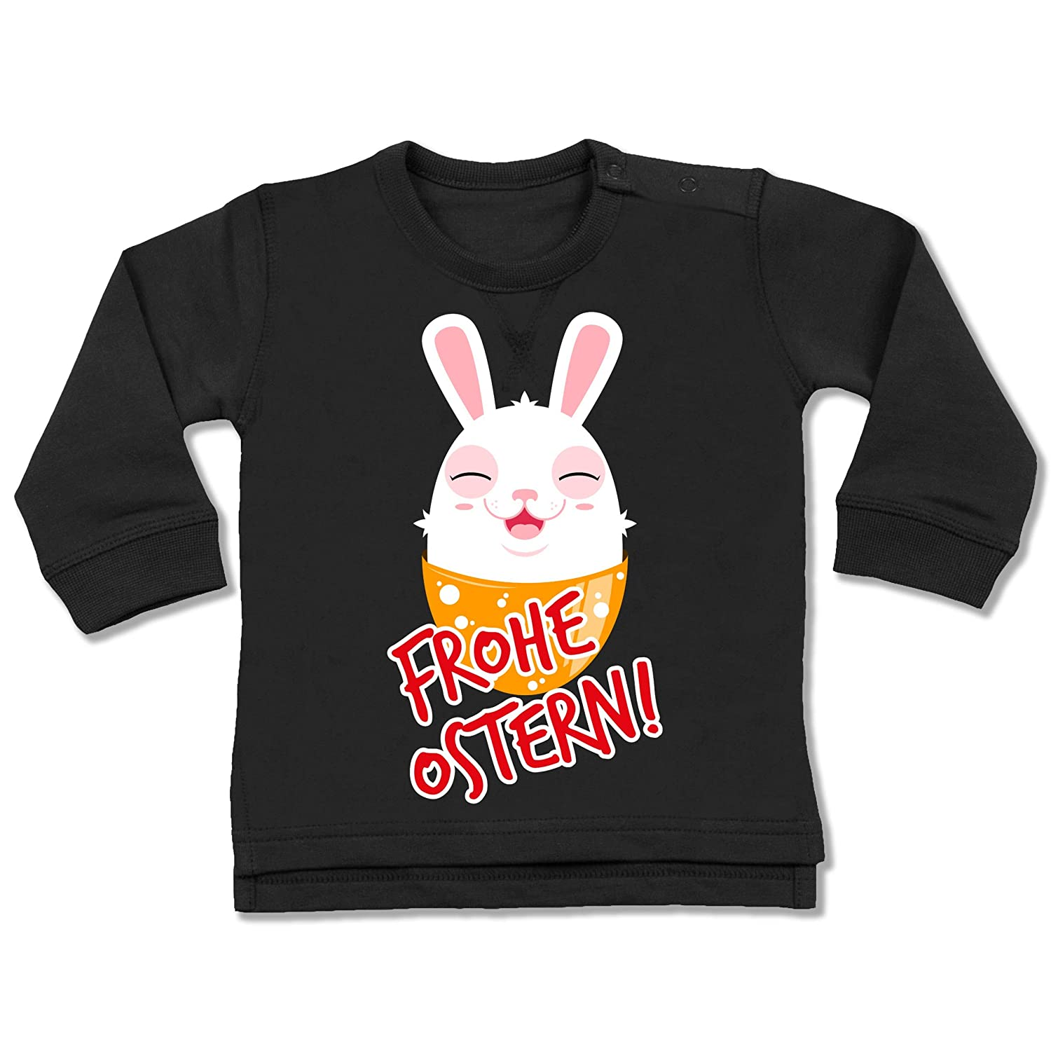 Frohe Ostern Osterhase Anl/ässe Baby Baby T-Shirt Langarm