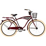 "Huffy Bicycle Company Men's Deluxe Cruiser Bike, 26""/Large"