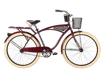 5ac87205113 Amazon.com : Huffy Bicycle Company Men's Deluxe Cruiser Bike, 26 ...