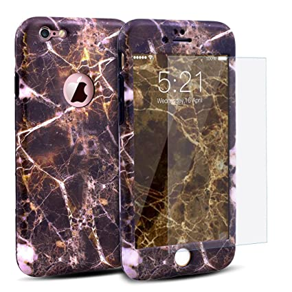 coque iphone 6 360 degres marbre