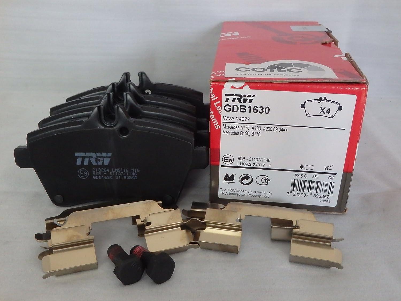 TRW GDB1630 Bremsbelag 4-teilig