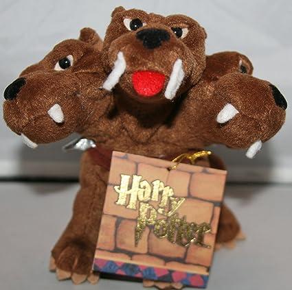 Amazon Com Harry Potter Fluffy 5 Inch Plush Figure By Gund Toys
