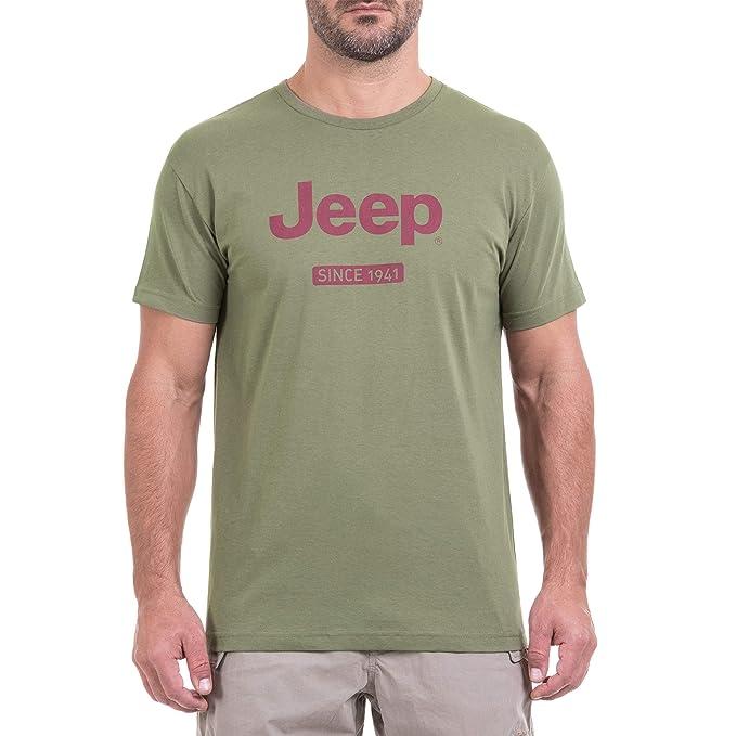 Jeep da Uomo Grille camoucork j8s Maglietta