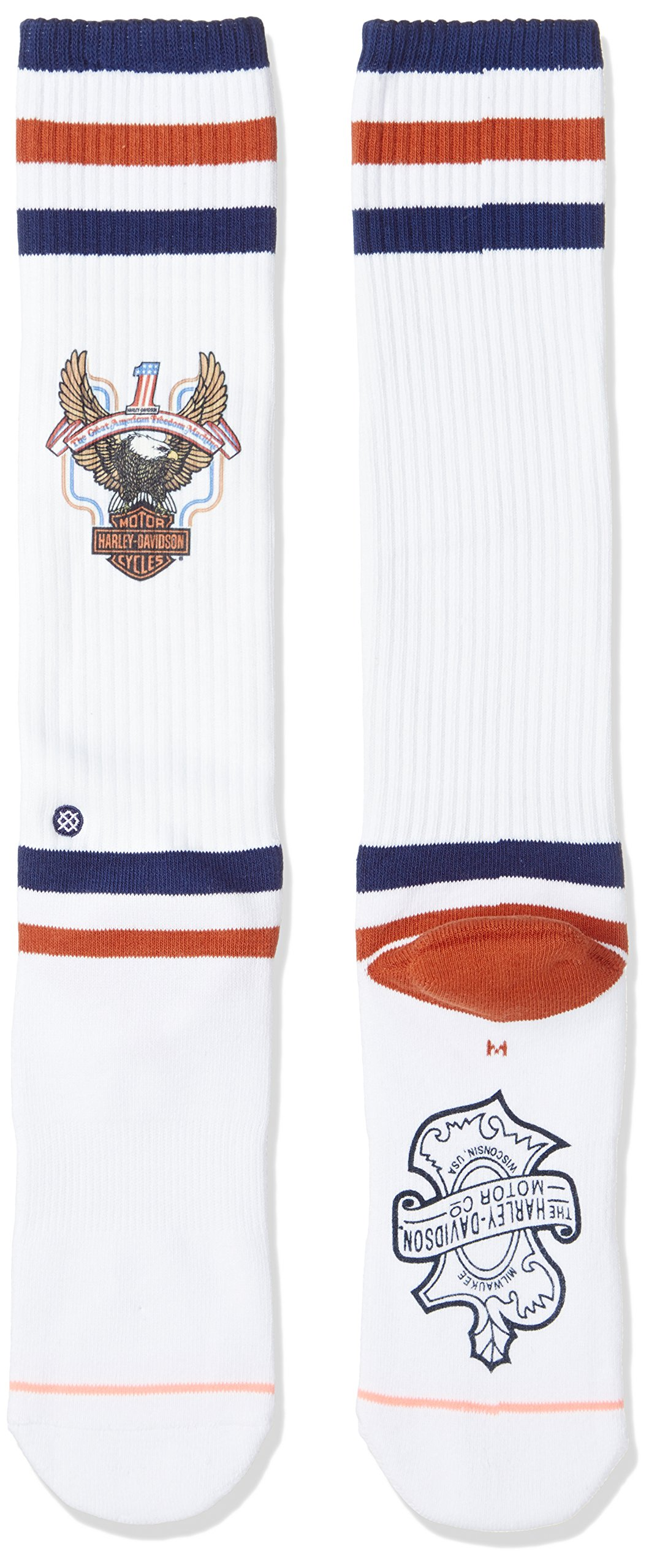 Stance Womens Historic Socks One Size White