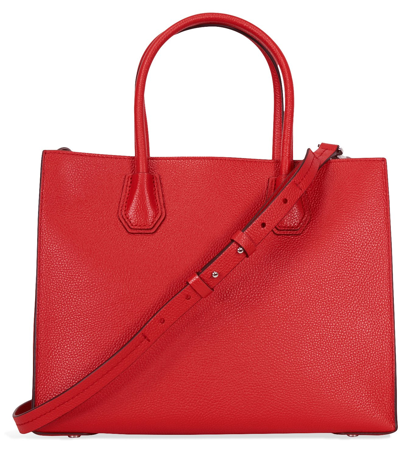 MICHAEL Michael Kors Women's Mercer Tote, Bright Red, One Size