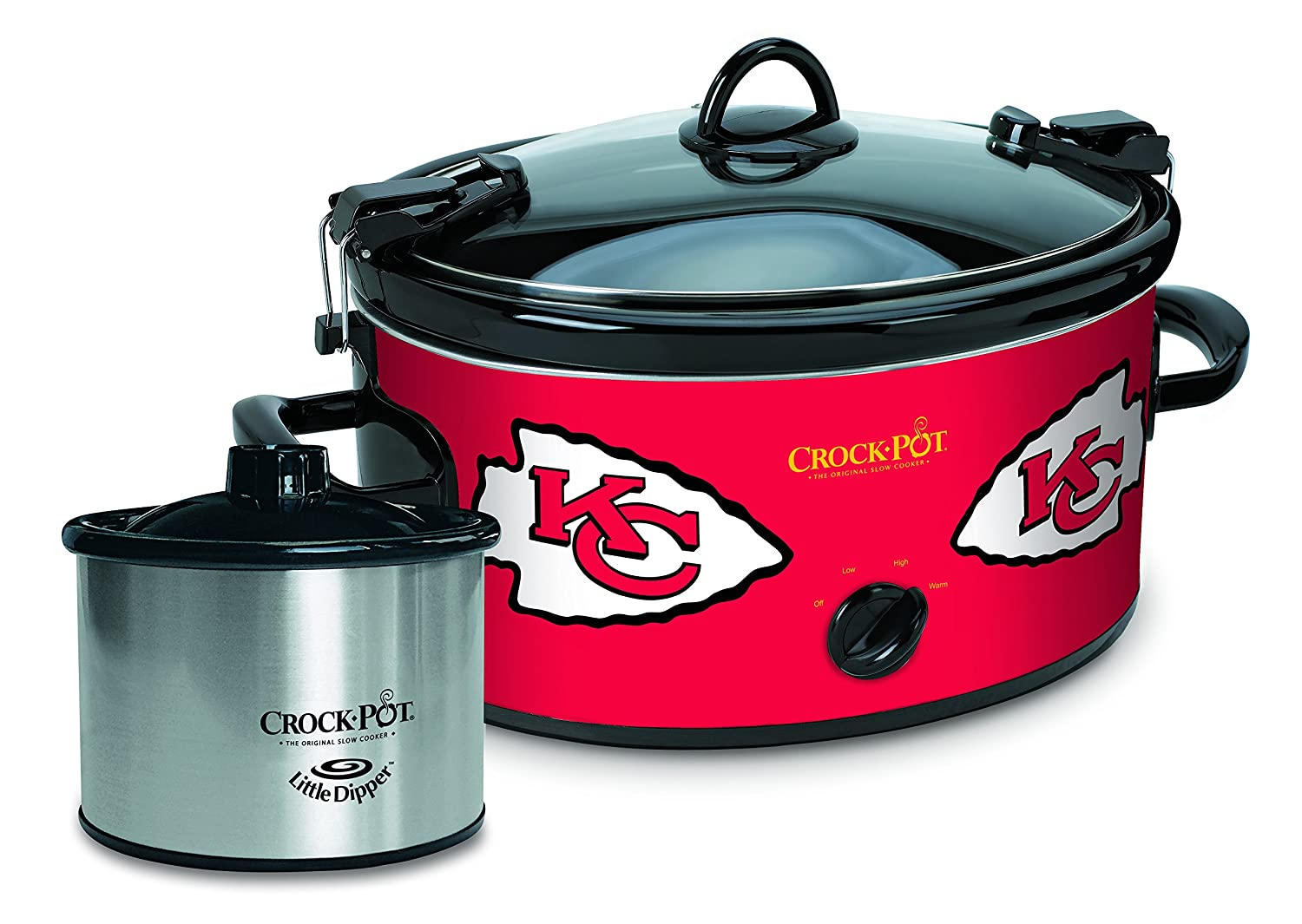 Crock-pot SCCPNFL603-BR Baltimore Ravens Slow Cookers, White