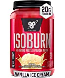 BSN ISOBURN, Lean Whey Protein Powder, Fat Burner for Weight Loss with L-carnitine - Vanilla Ice Cream, (20 Servings)