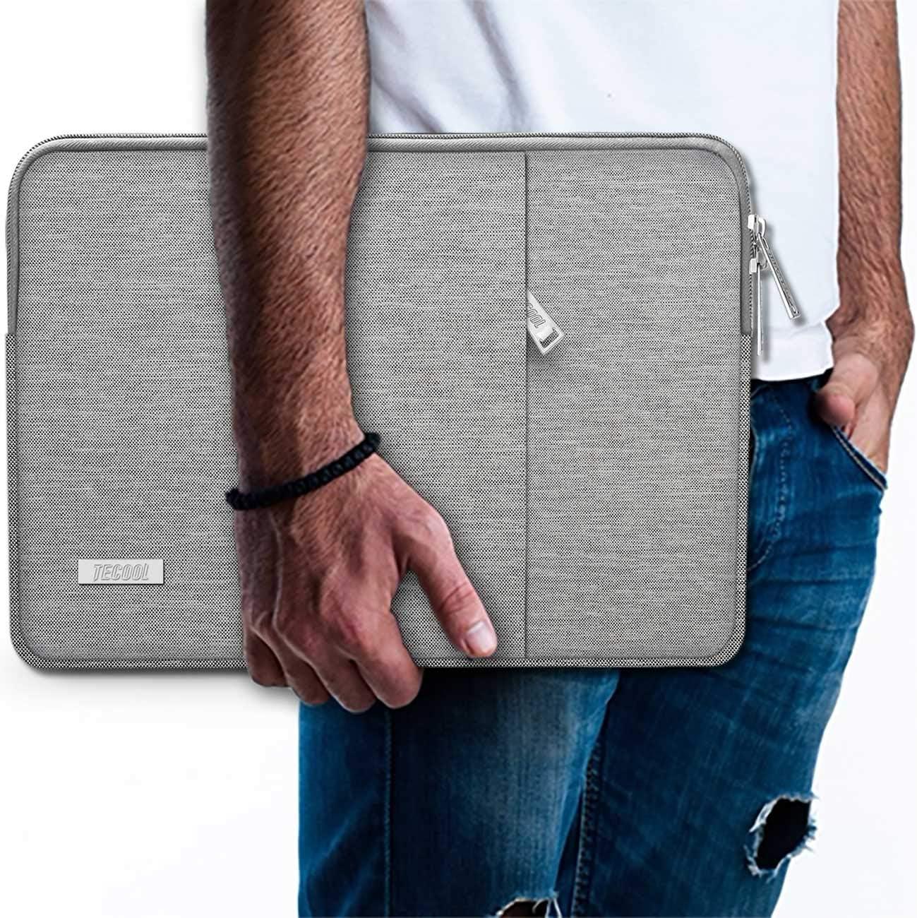 Rosa Malet/ín Bolso Protector para 2018 2019 MacBook Air 13 Retina A1932 TECOOL Funda Blanda para Ordenador Port/átil y 13 Pulgadas Port/átiles 2016-2019 MacBook Pro 13