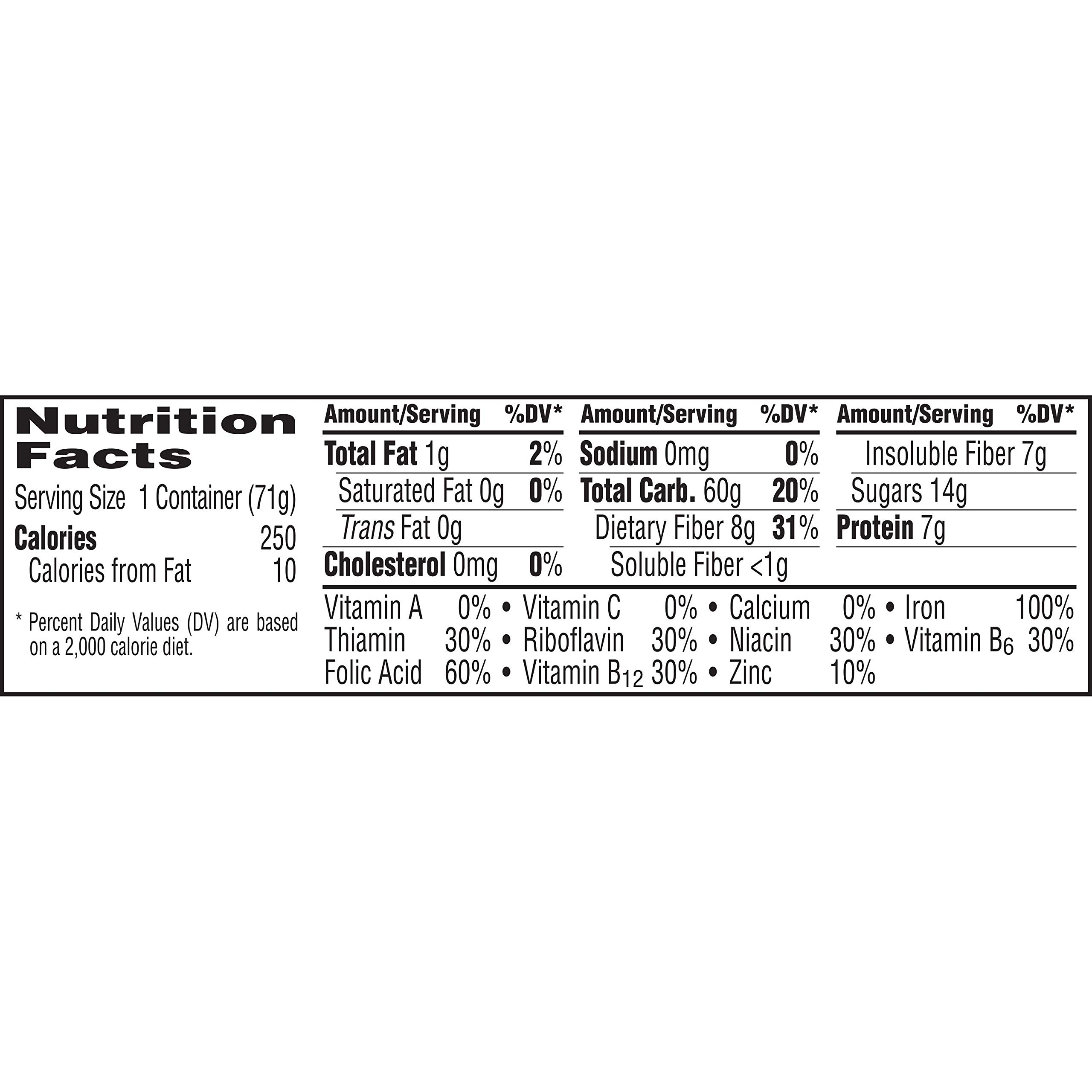 Kellogg's Frosted Mini-Wheats Cereal In A Cup, 2.5-Ounce Cup (Pack of 12)