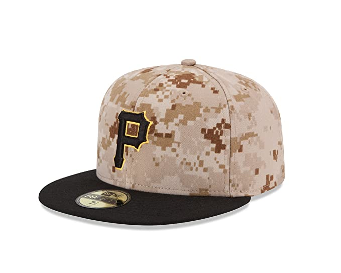 new style c07d0 a16c1 MLB Pittsburgh Pirates Men s Authentic Collection On Field 59FIFTY Fitted  Cap, 7 1 8