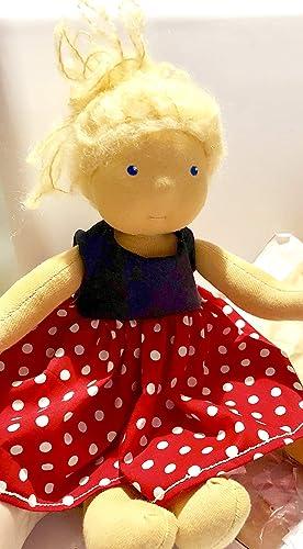 Madita Waldorf Bambola Art Waldorf 30cm Bambola nPwO0k