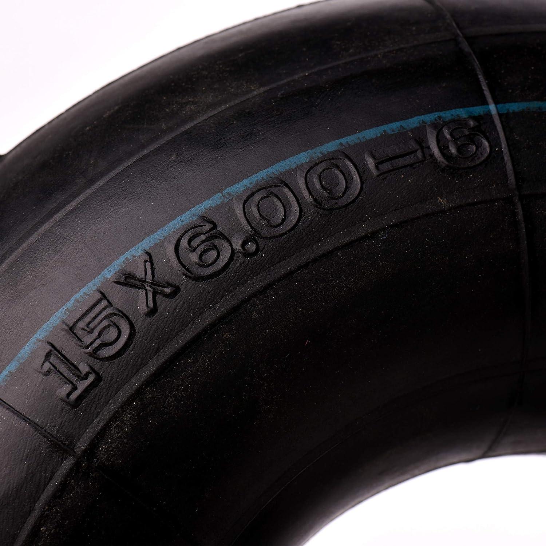 AR-PRO 2-Pack of Premium 15x6.00-6 Inner Tubes with TR-13 Valve Stem