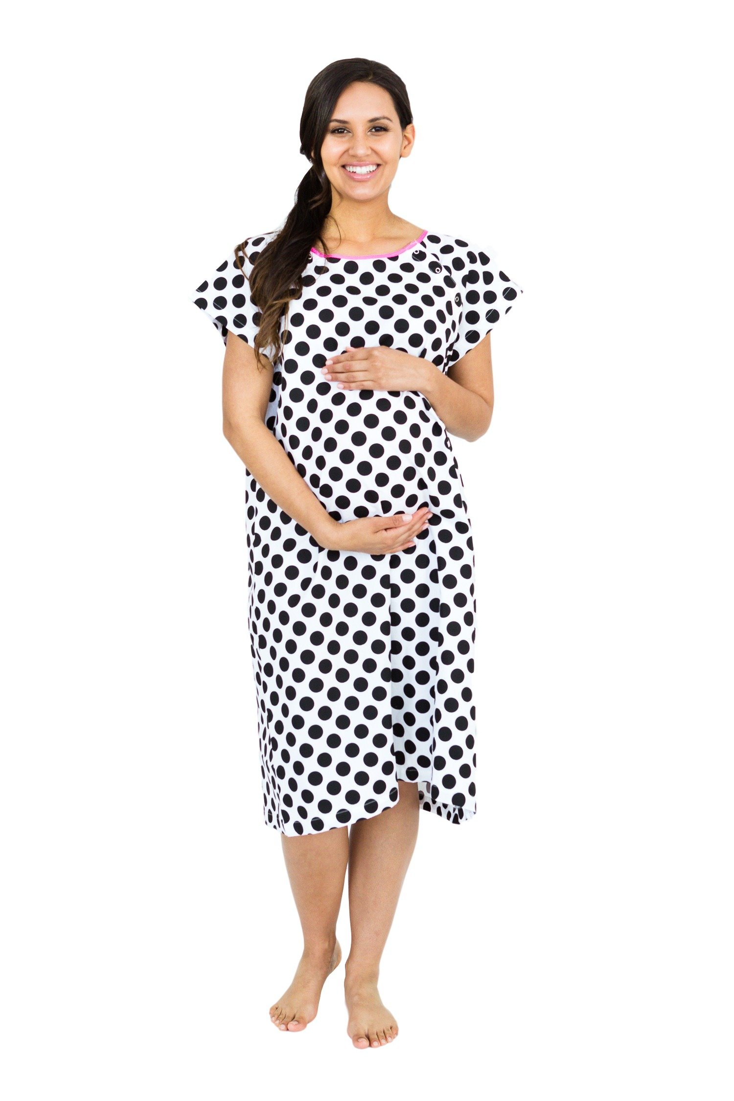Gownies - Labor & Delivery Maternity Hospital Gown (S/M pre ...