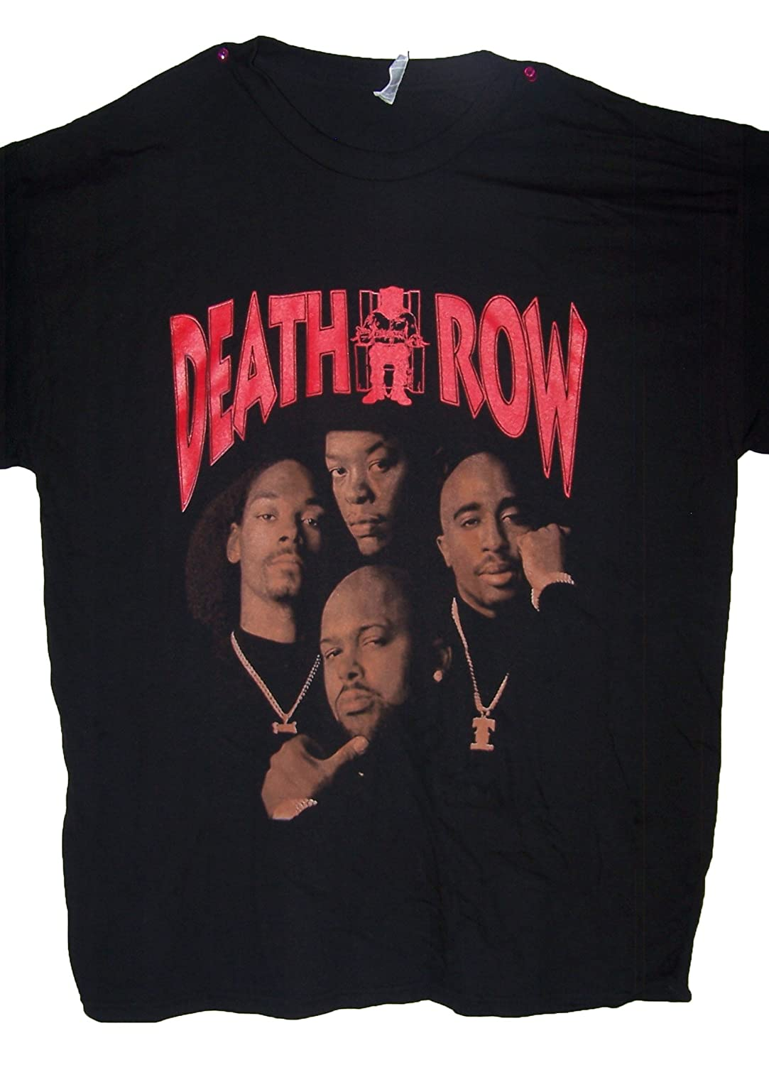 7e4474bfd3 Death Row Snoop Dog 2Pac Dr Dre Suge Knight Cotton T-Shirts (HhTs7 Z) |  Amazon.com