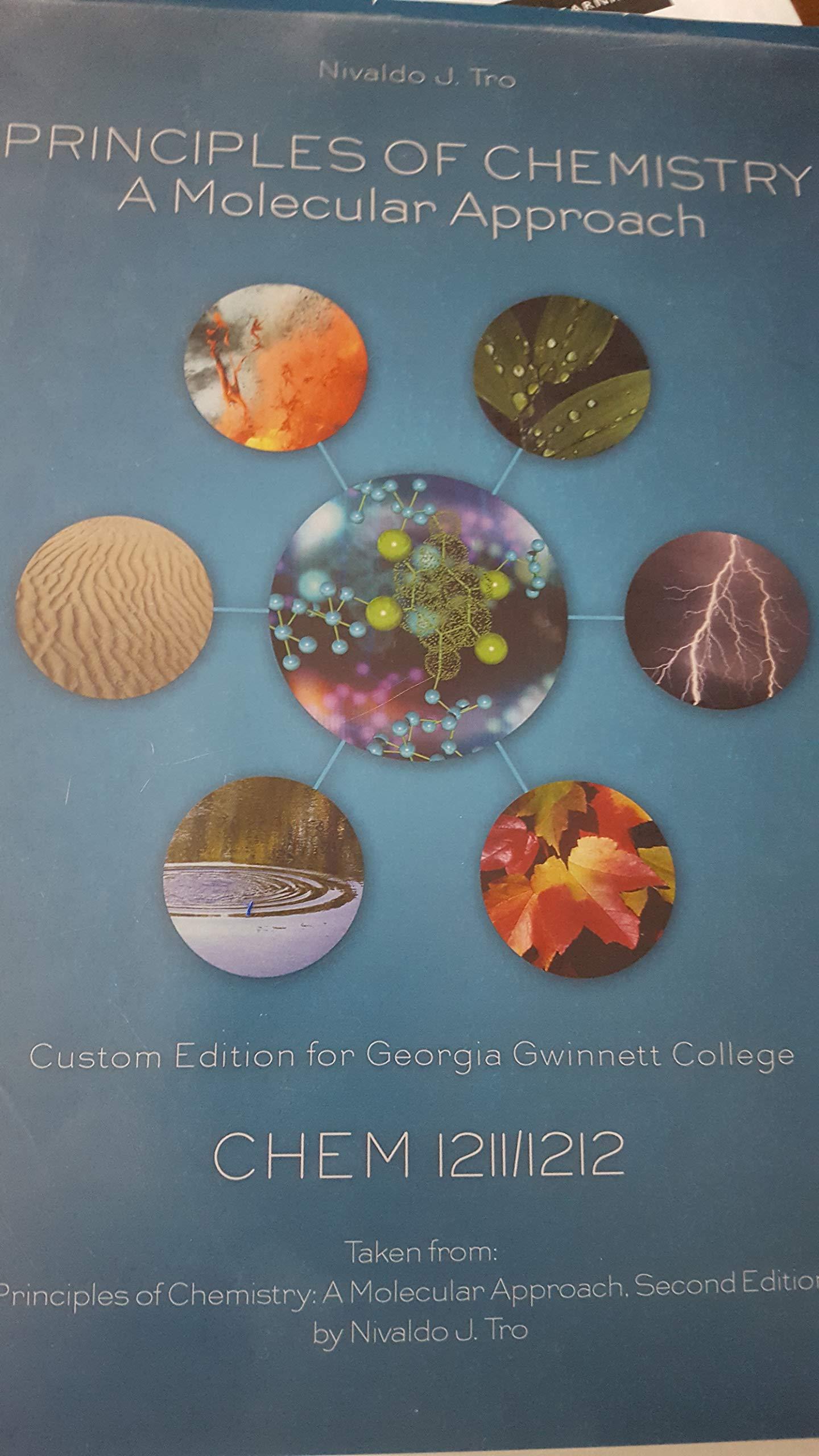 Principles of Chemistry: A Molecular Approach: Nivaldo J. Tro:  9781269328807: Amazon.com: Books