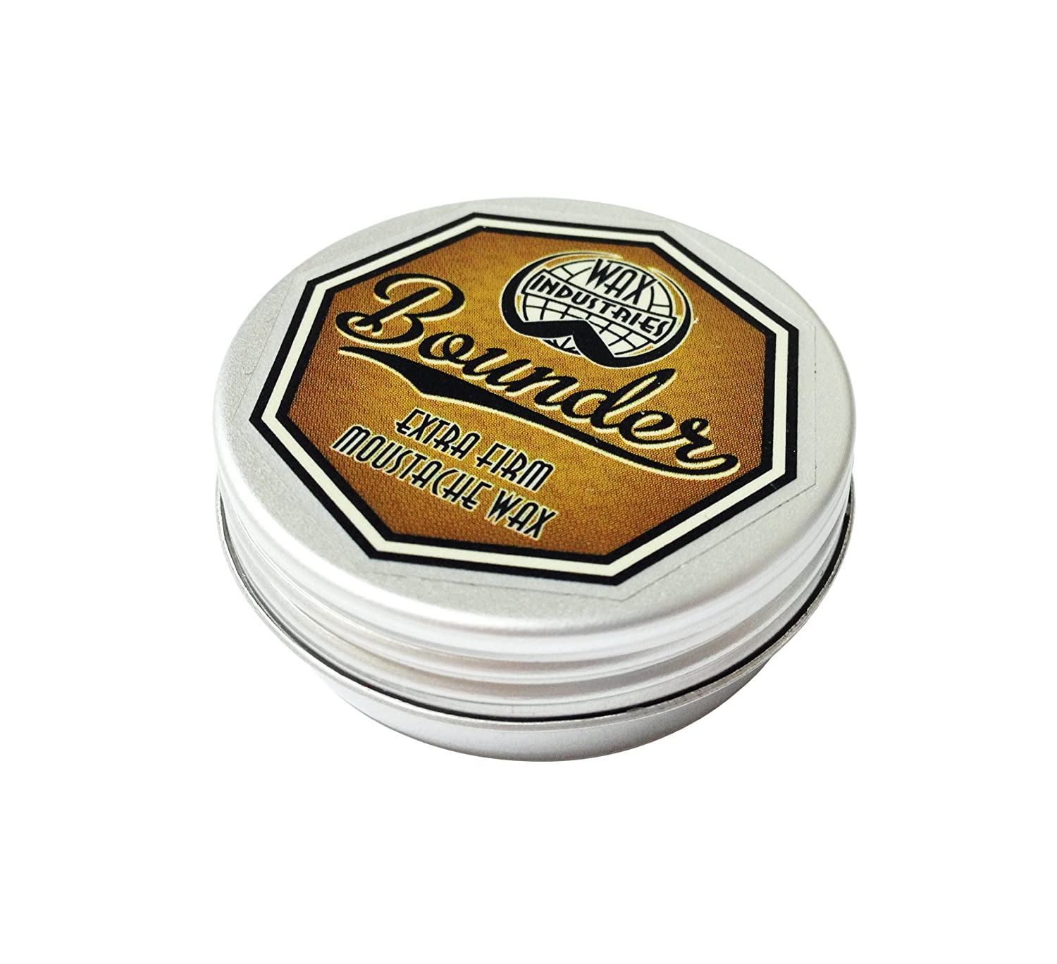 Bounder Extra Firm Moustache Wax (10ml) Wax Industries BD5000