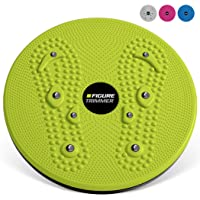 Figure Trimmer Ab Twister Board for Exercise Waist Twisting Disc with 8 Magnets...