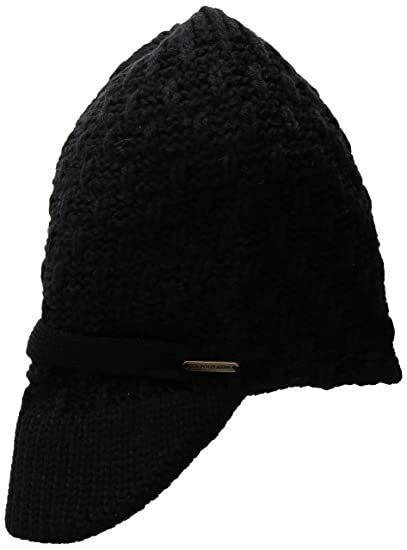 d4164bf29db U.S. Polo Assn. Popcorn Women s Beanie with Knitted Visor